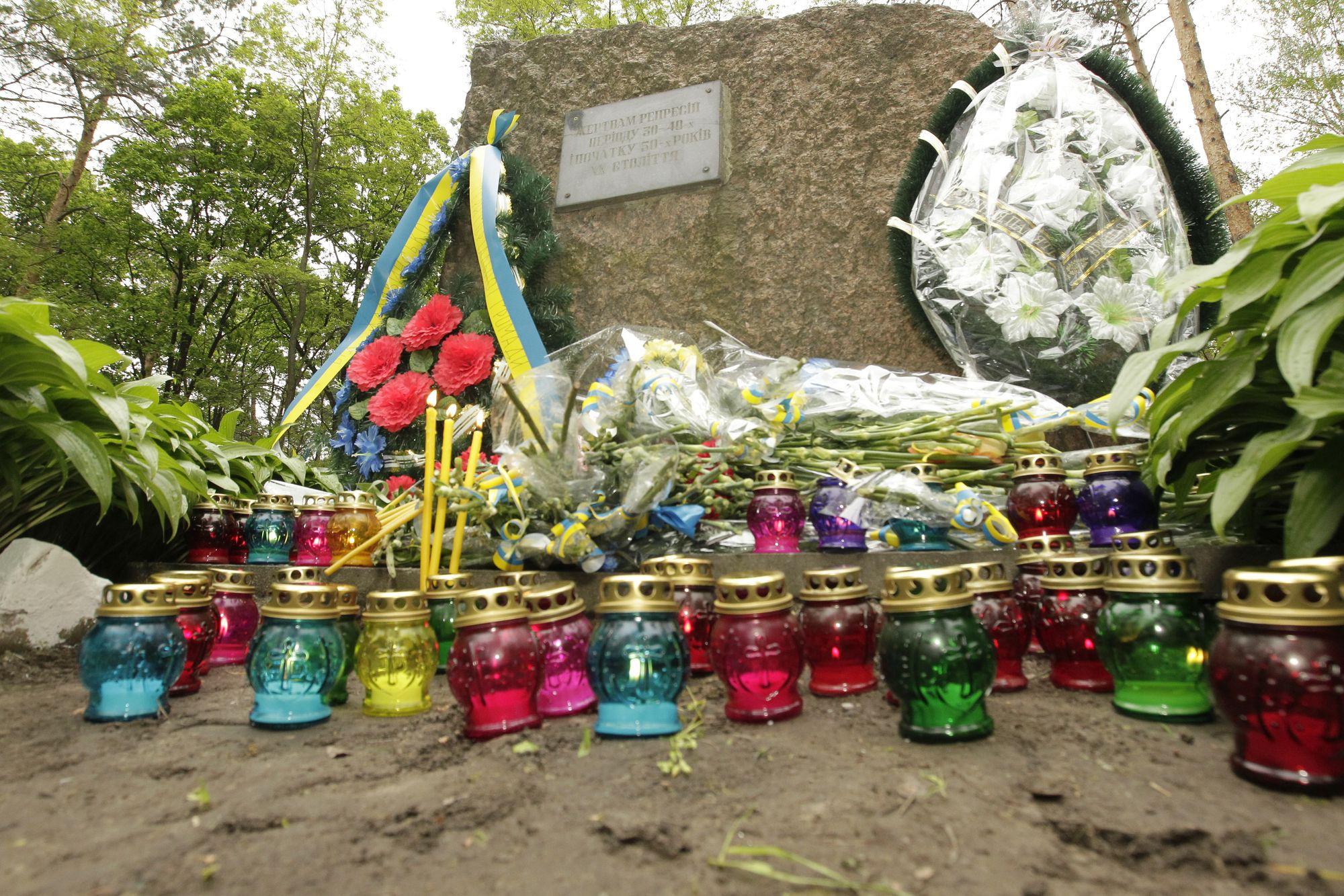 Чернігівщина у скорботі. Вшановує пам'ять 9 000 політичних в'язнів (Фото)