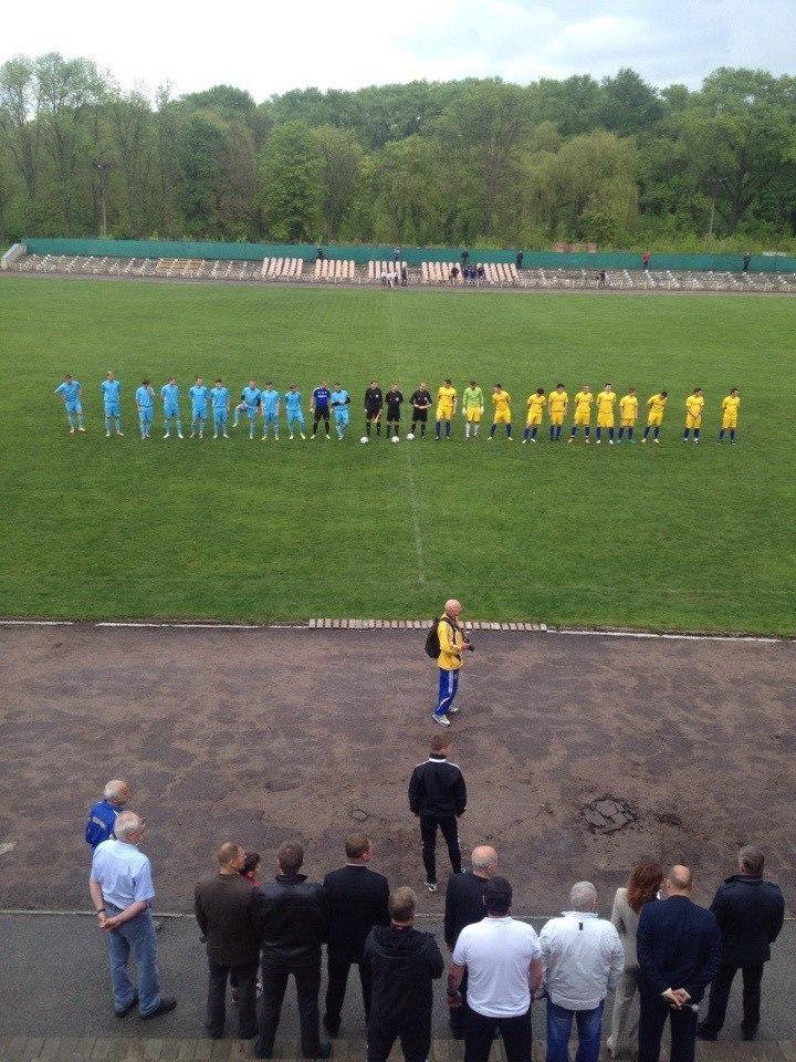 Фінальний матч за Кубок області з аматорського футболу: Агродім забив гол!!! (Фото)