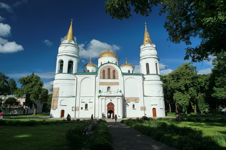 картинка спасский собор в чернигове