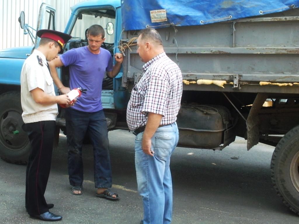 Рятувальники перевірили безпеку зерносховищ (Фото)
