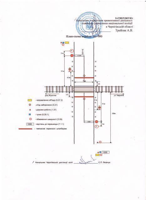 На Чернігівщині перекриють залізничний переїзд 7-8 вересня (Фото)