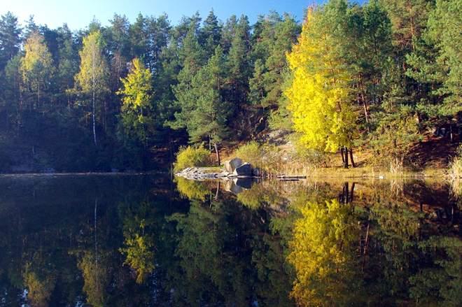 Прекрасна локація для відпочинку в Чернігівській області: Голубі озера (Фото)
