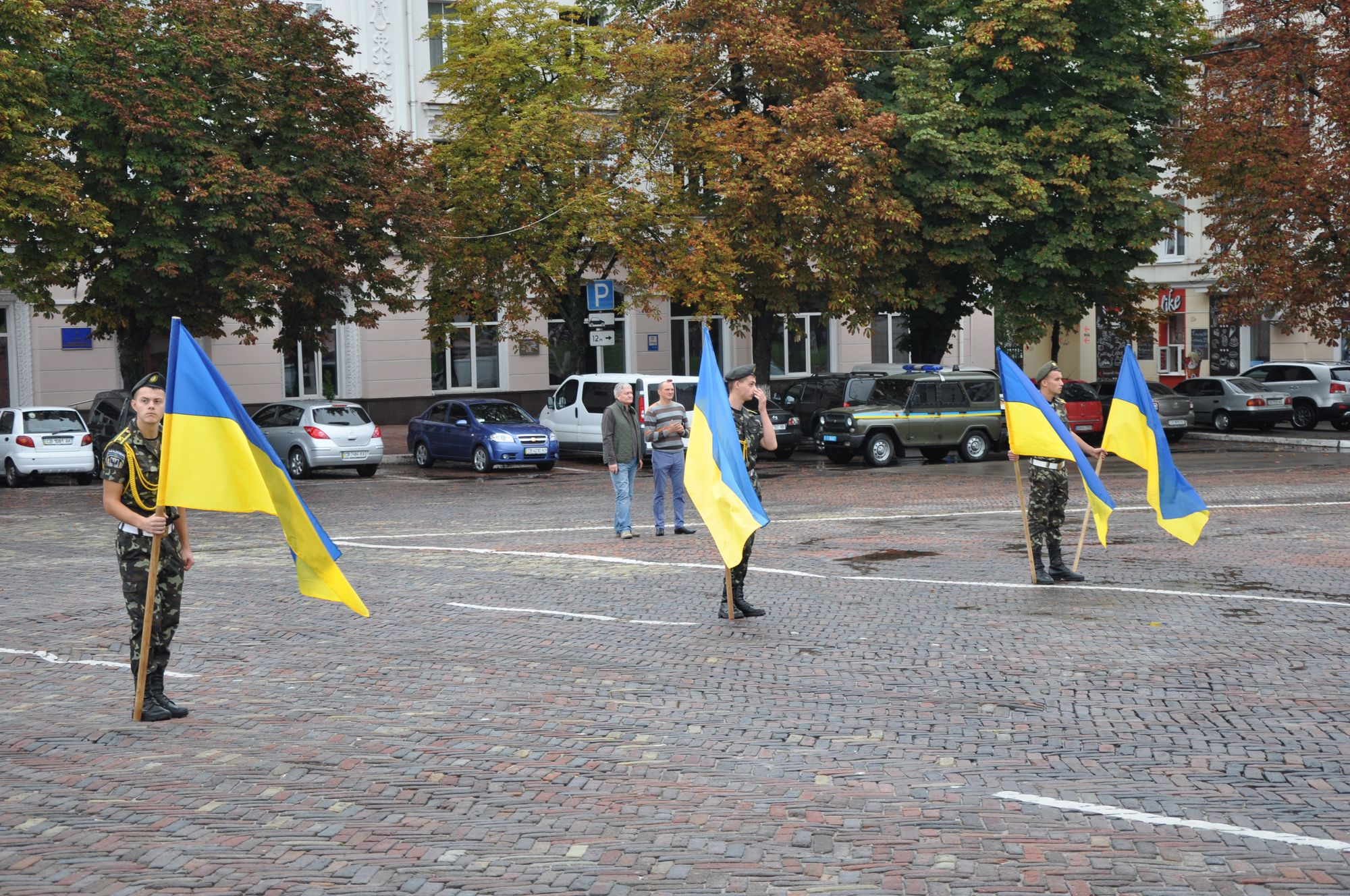 У Чернігові розпочали святкувати День Незалежності (Фото)