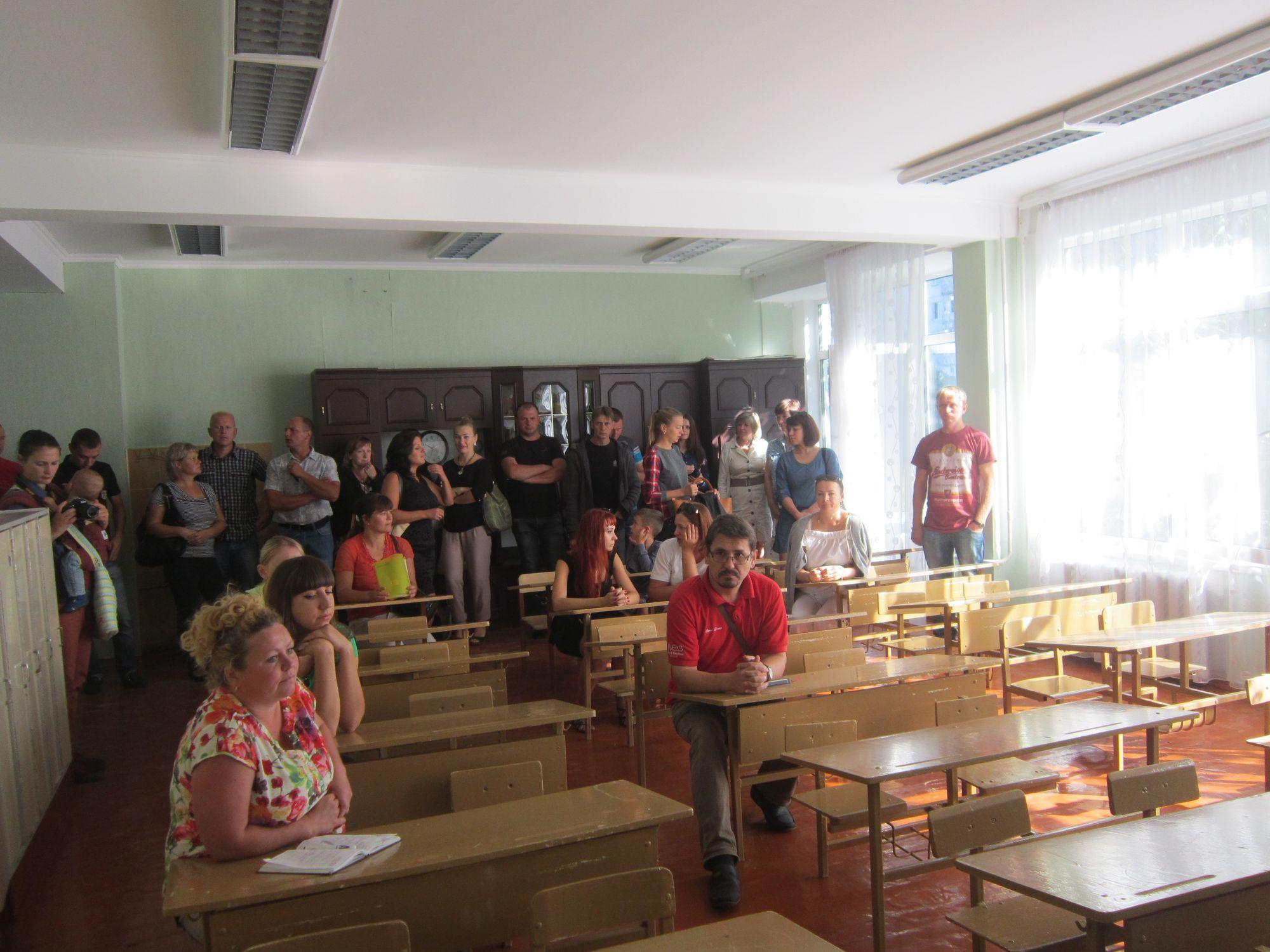 «Революція гідності» в чернігівській школі № 2 (Фото)