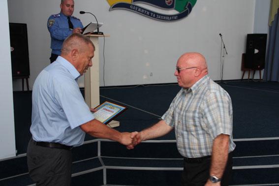 Чернігівські правоохоронці отримали нагороди та подяки до Дня Незалежності (Фото)