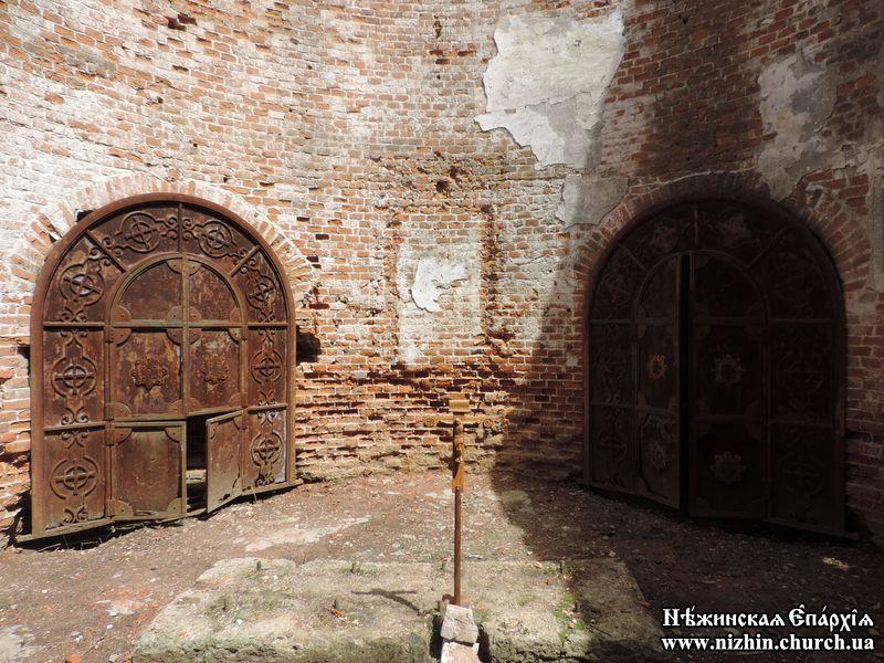 На Ічнянщині відновлюють старовинний храм (Фото)