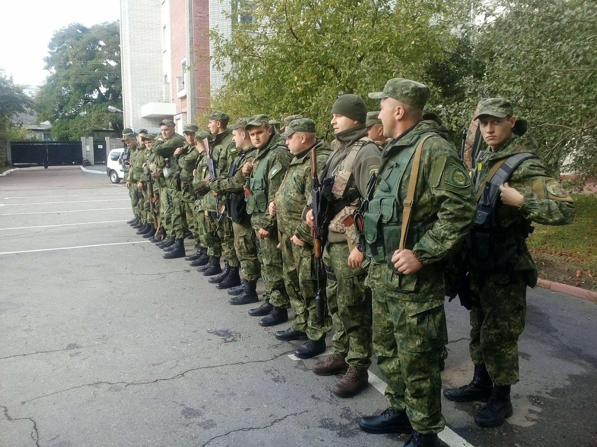 Рота «Чернігів» вирушила в АТО (Фото)