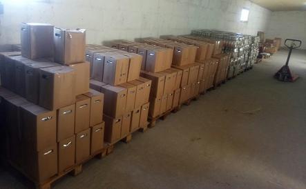 На Чернігівщині викрили підпільний цех із виробництва алкоголю (Фото)