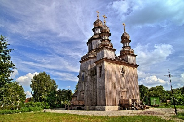 Містична церква в Седневі, в якій знімали гоголівський «Вій» (Відео)