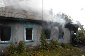 На Чернігівщині під час пожежі житлового будинку загинув 27-річний чоловік