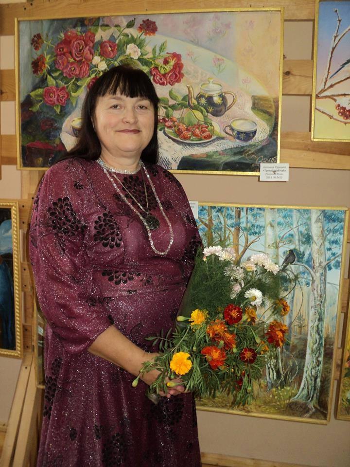 На кордоні з Росією відкрили виставку картин (Фото)