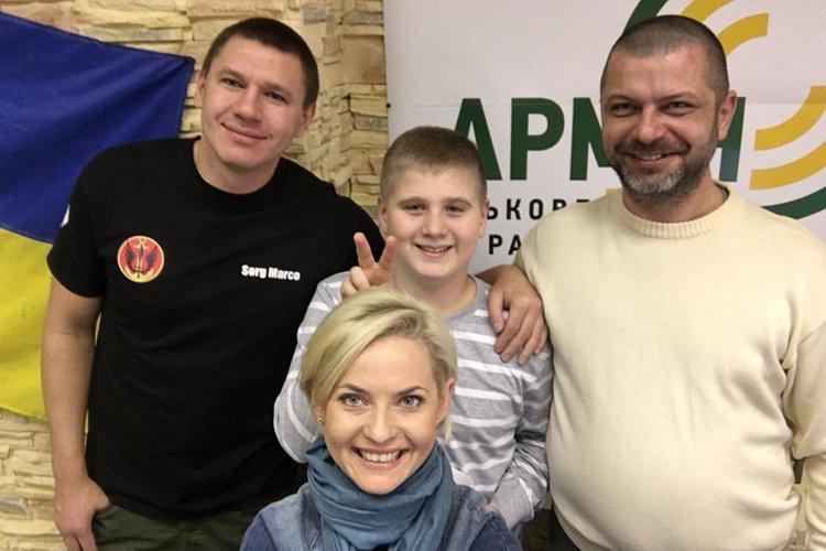 11-річний Володимир у свій день народження привітав українських морпіхів (Фото)