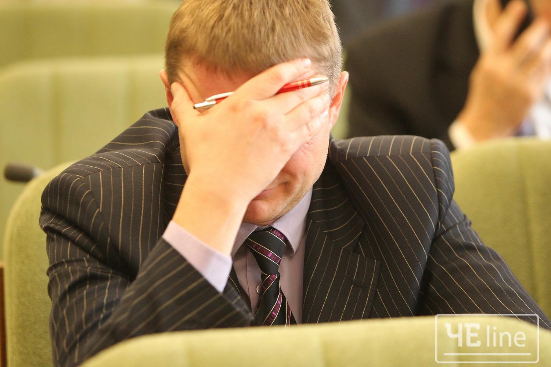 Миттєвості новорічної сесії Чернігівської міськради (Фото)