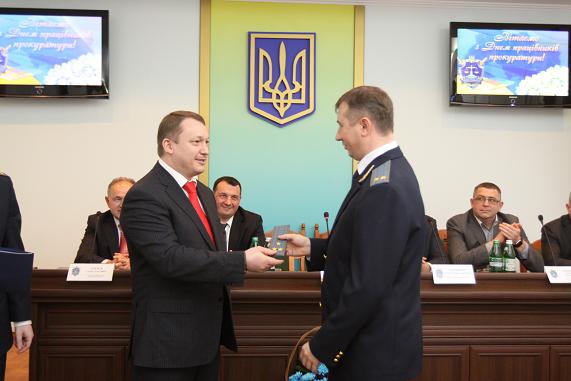 Прокурори Чернігівщини отримали відзнаки до професійного свята (Фото)