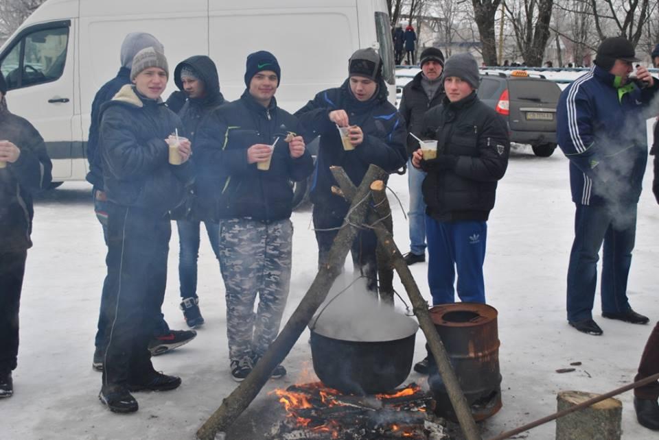 У Сосниці за підтримки «Нашого краю» відкрито ковзанку (Фото)