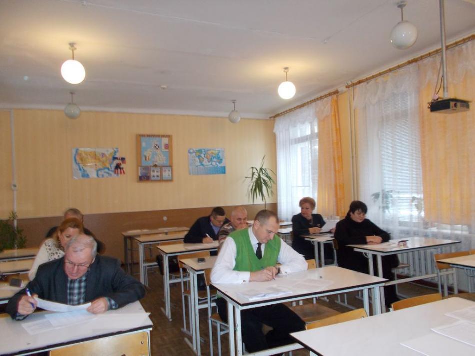 Чернігівські освітяни складають іспити з педагогіки (Фото)