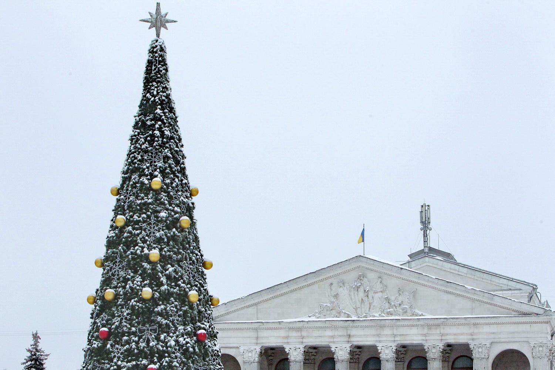 Новорічна казка для дітей Чернігівщини (Фото)