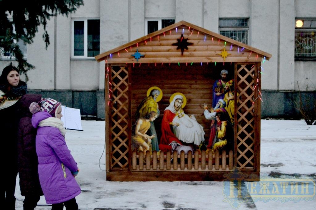 У Ніжині відкрилася Різдвяна шопка (Фото)