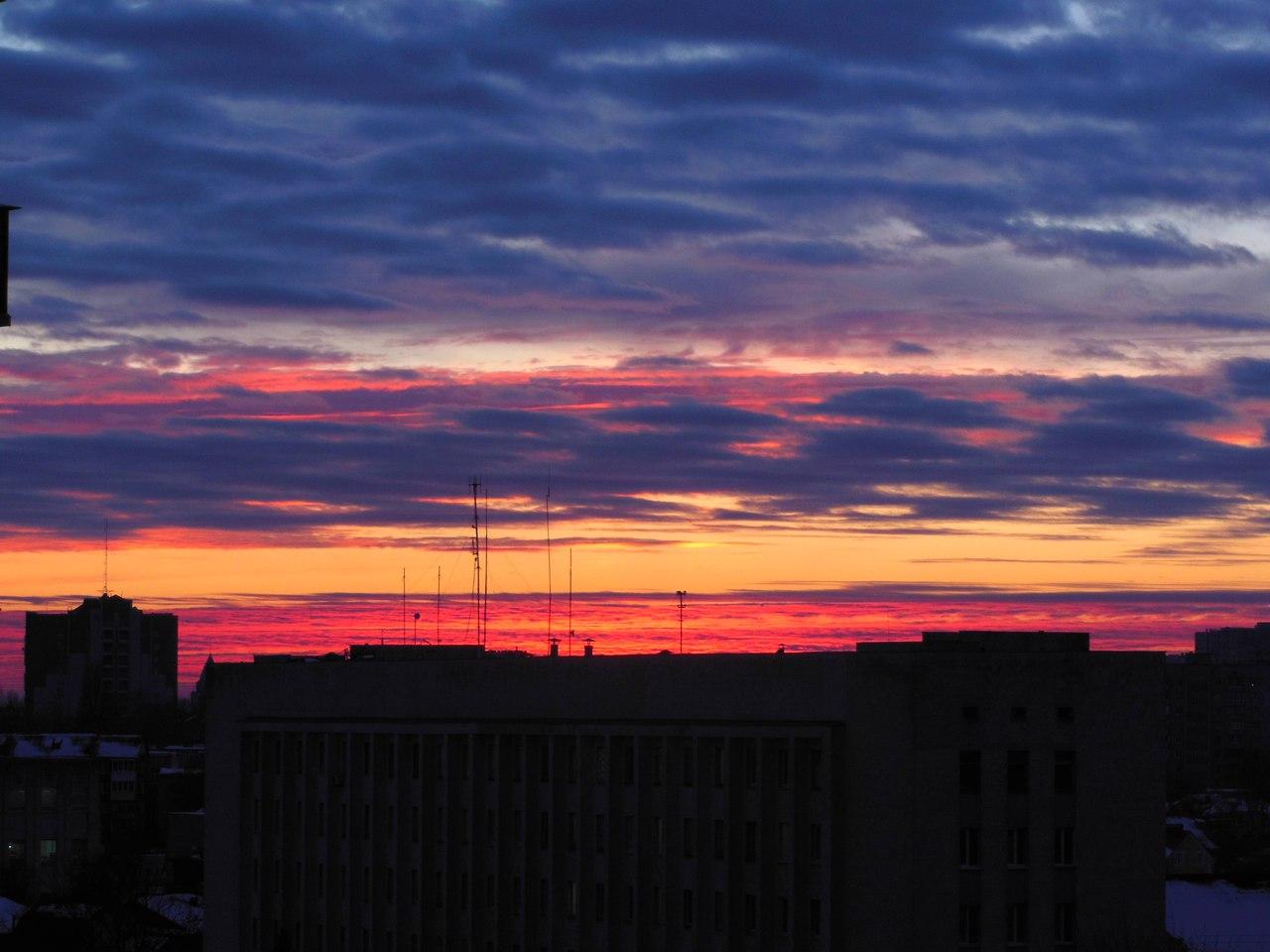 Неймовірне небо над Черніговом (Фото)