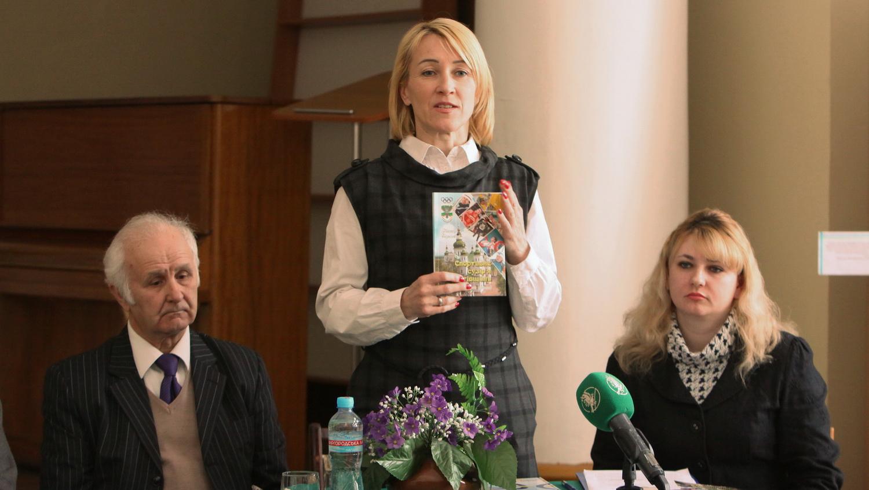 Спортивний журналіст презентував нову книгу (Фото)