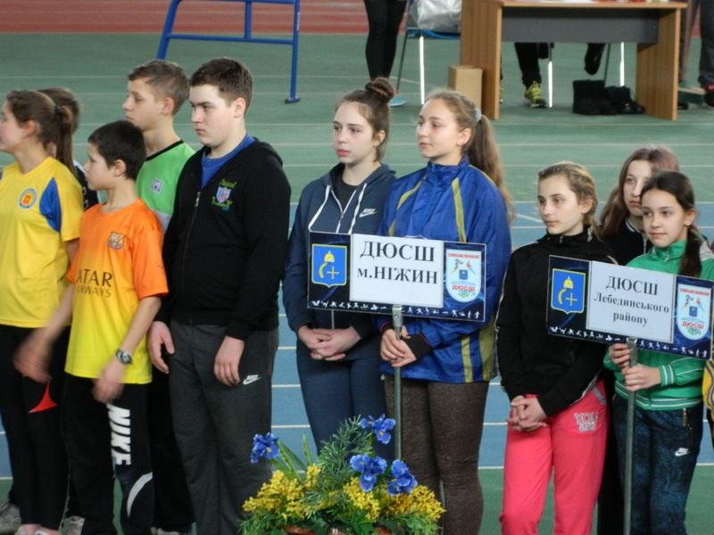 Ніжинські атлети показали високі результати у Всеукраїнському турнірі (Фото)