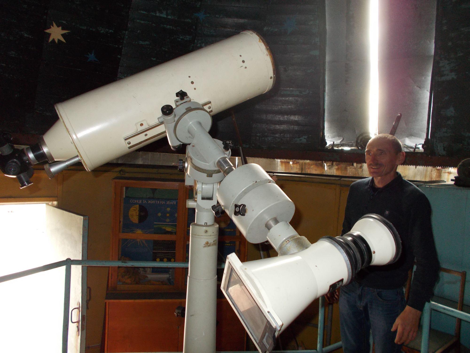 Згаслі міжпланетні амбіції: в чернігівському виші планетарій використовують як музей