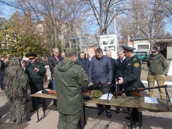 У Чернігові відзначили День Нацгвардії (Фото)