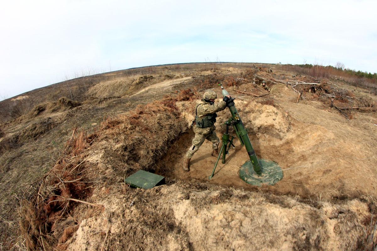 На Чернігівщині провели мінометні стрільби (Фото)