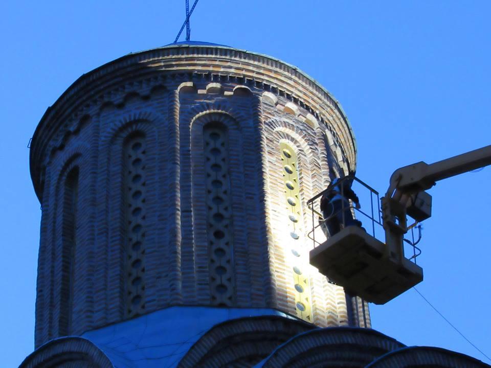 У Чернігові хочуть підсвічувати церкву (Фото)