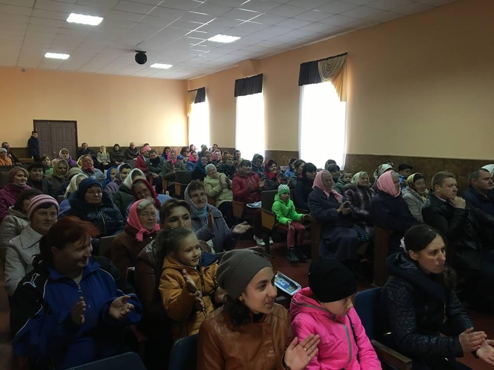 На Чернігівщині «Наш край» відновив кінопокази в селах двох громад (Фото)