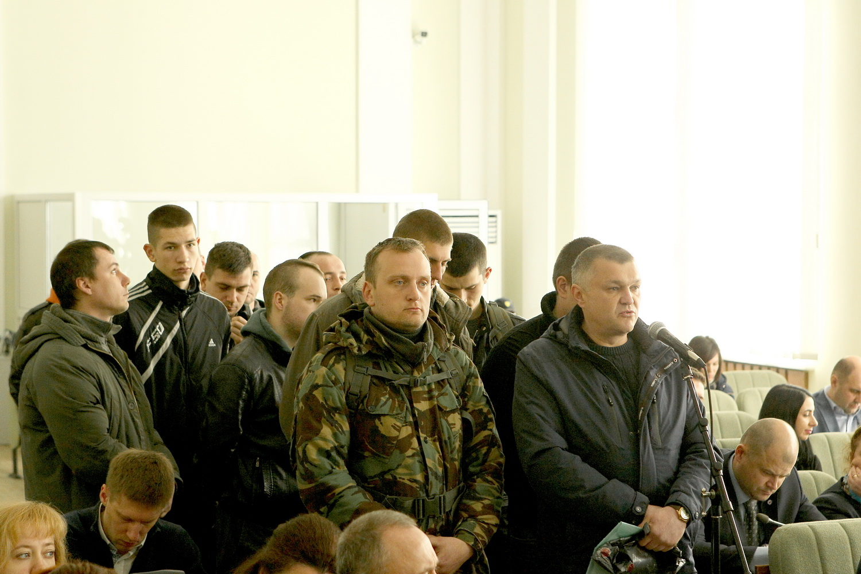 Незвичайна спокійна сесія в міськраді (Фото)