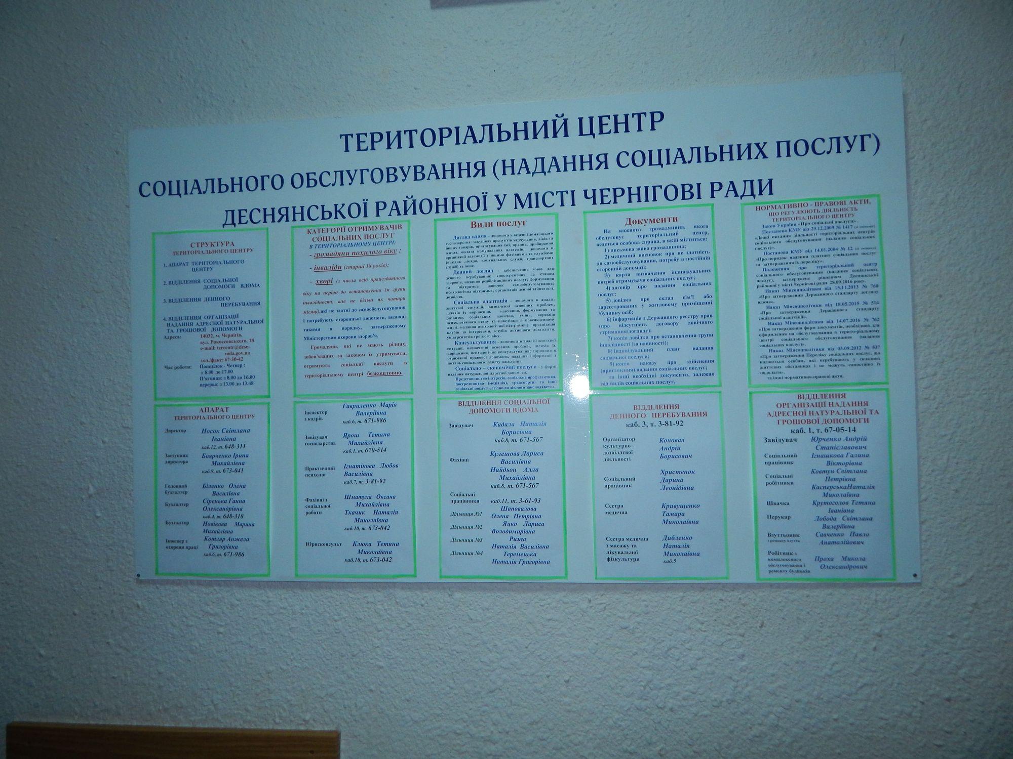 Територіальний центр отримав від Віктора Бистрова солодкі подарунки (Фото)