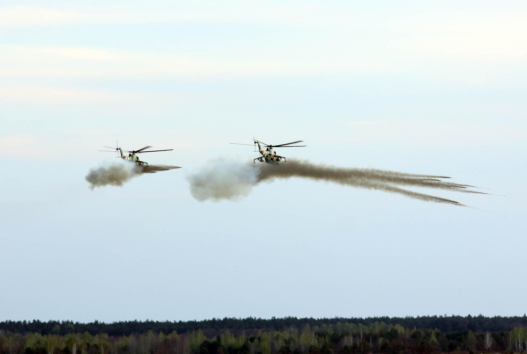 На Чернігівщині стріляли танки (Фото)