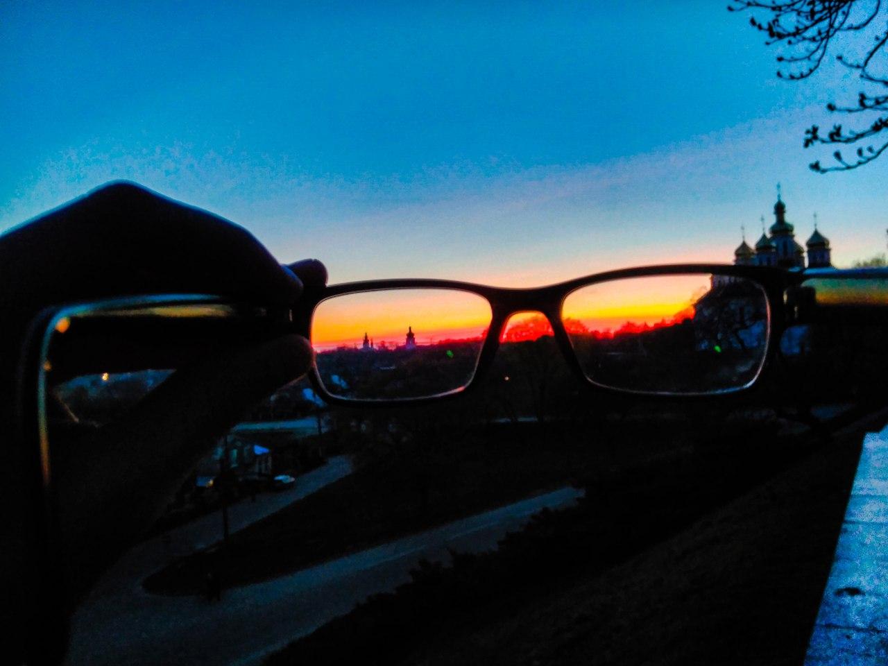 Вечірній пейзаж у Чернігові (Фото)