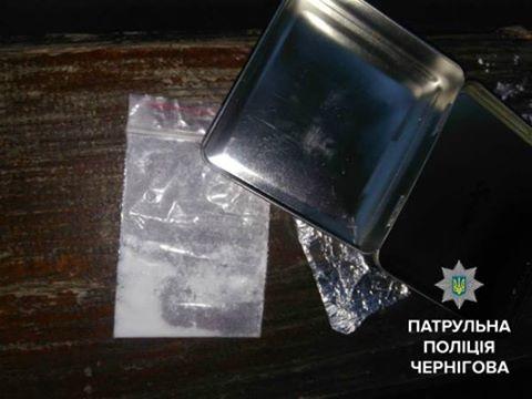 Чернігівець зберігав наркотики у портсигарі (Фотофакт)