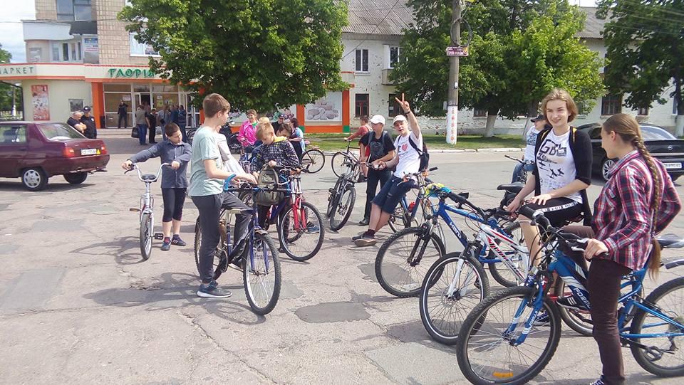 Велодень у Корюківці (Фото)