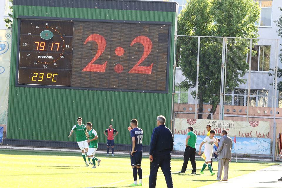 Фоторепортаж з історичного матчу Десни (Фото)