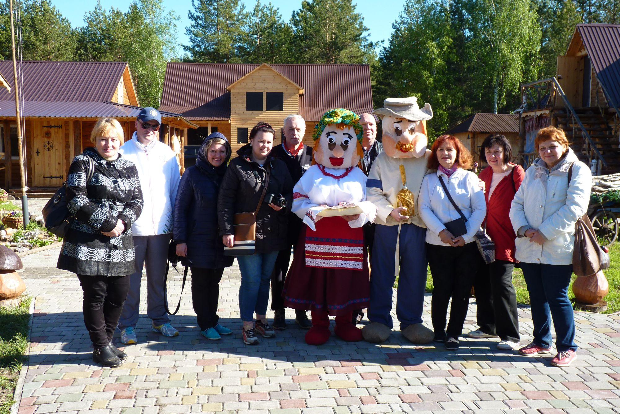 Туристам із Білорусі показали мальовничу Чернігівщину (Фото)