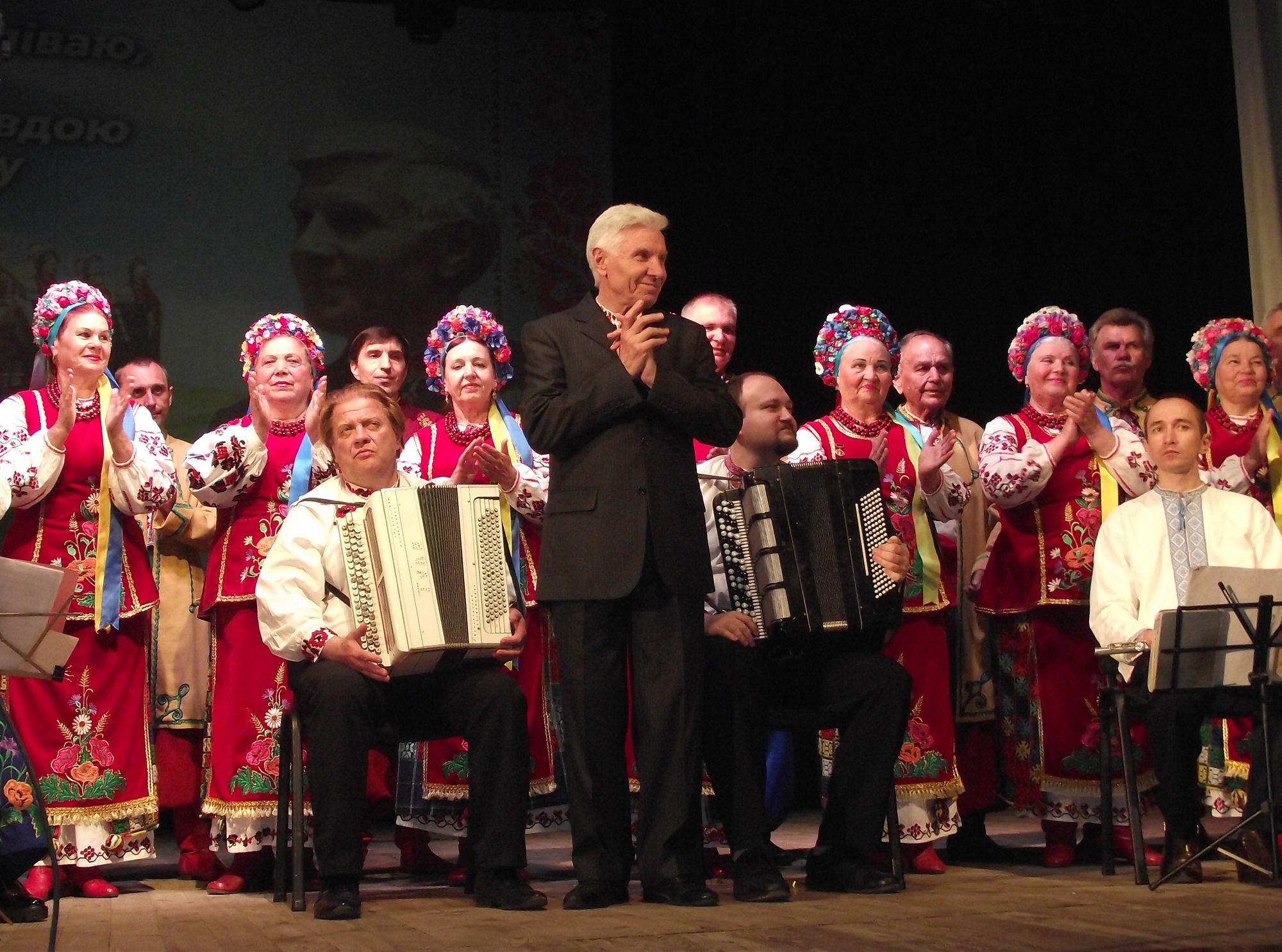 Керівник народного хору «Десна» відсвяткував 70-річчя (Фото)