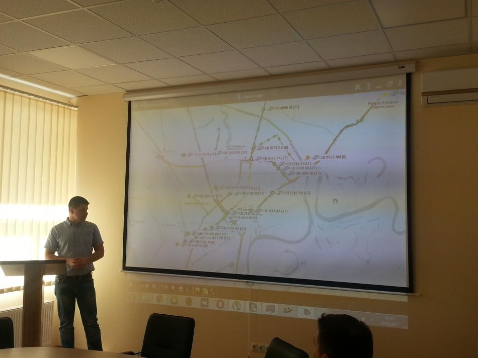 Чернігівських перевізників навчали роботи з GPS-трекерами (Фото)