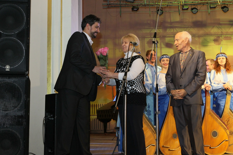 Академічний камерний хор Бортнянського привітали з 20-річчям (Фото)