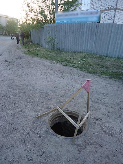 На гарячому затримали викрадача люків (Фото)
