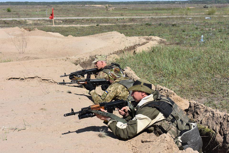 Резервісти удосконалюють бойову майстерність (Фото)