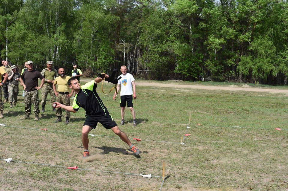 Військовослужбовці мотопіхотної бригади провели спортивні змагання (Фото)