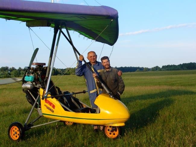 Сіверянин склав п'ять літаків власними руками (Фото)