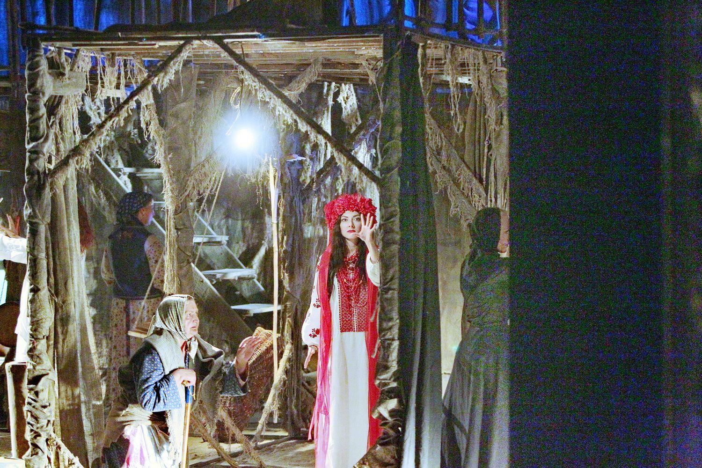 У Чернігові відбулася прем'єра унікальної містичної вистави (Фото)