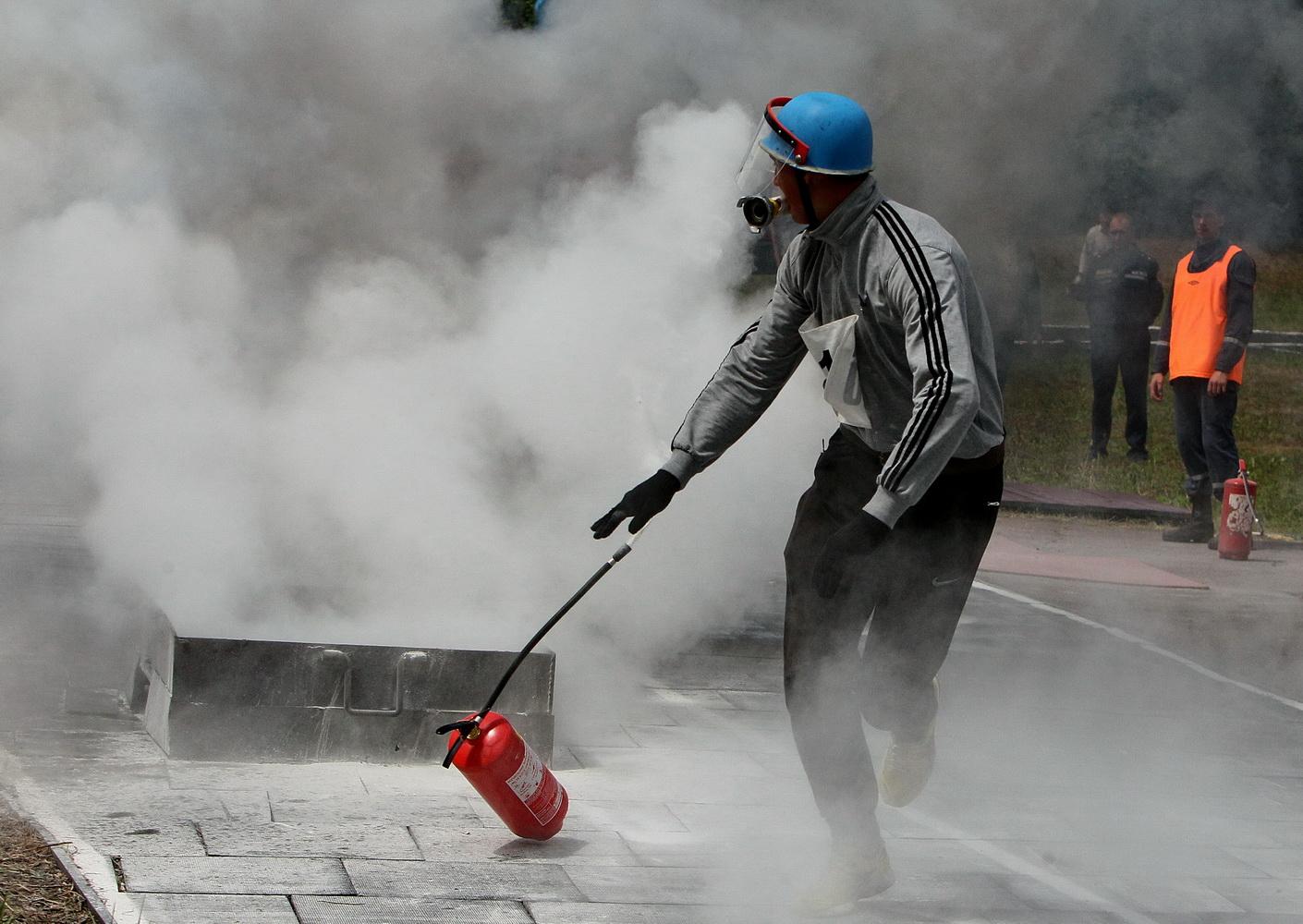 Пожежна естафета: другий день змагань рятувальників (Фото)