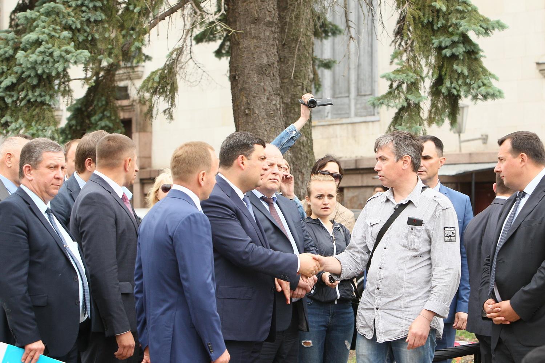 Гройсман побував у Чернігові (Фото)