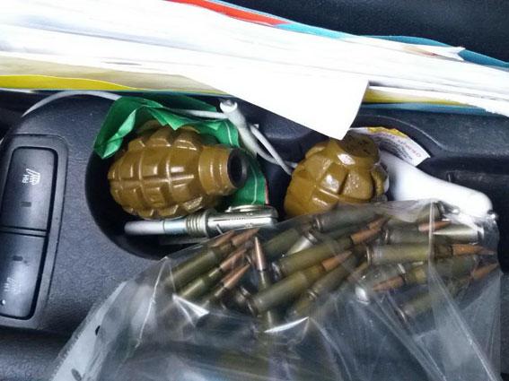 На Чернігівщині поліція затримала торгівця зброєю (Фото)