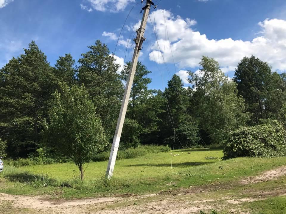 Флешмоб по-сіверськи: буревій дістався і Корюківщини (Фото)